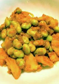 ジャガイモと大豆のベジタリアンカレー
