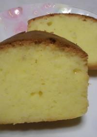 シリコンヘラで混ぜるだけのパウンドケーキ