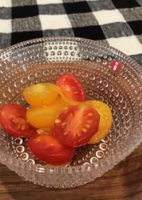 ミニトマトのマーマレードマリネ♡