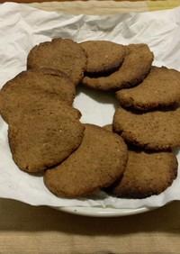 おからパウダーとピーナツバターのクッキー