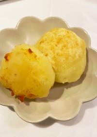簡単チーズ芋餅