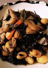 ◆簡単健康副菜♡ひじきと蓮根の炒め煮◆