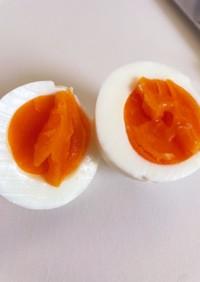 簡単!おいしい!半熟ゆで卵