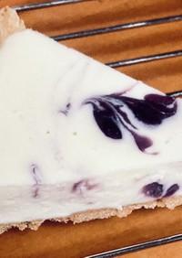 ホワイトチョコのレアチーズケーキ