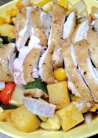 鶏肉のオーブン焼き バルサミコ風味