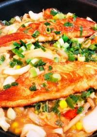 フライパンで簡単☆ 鮭のちゃんちゃん焼き