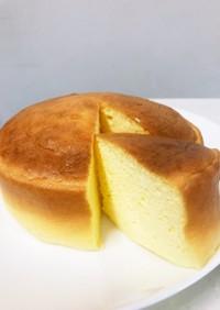 割れないスフレチーズケーキ