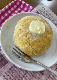 【腸活】オートミール蒸しパン