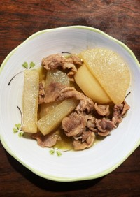 大根と豚バラのさっぱり煮