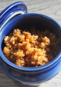 手作り大豆ミートアレンジ!鶏肉のそぼろ風