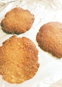 オートミールとピーナッツバターのクッキー