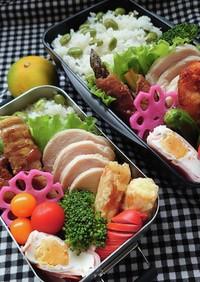 ❜21/9/22 枝豆ご飯&豚肉アスパラ