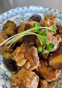 豚こまでゴロンとお肉の中華ナス炒め