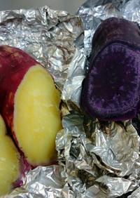 パープルスィート(紫芋)&紅優甘の焼き芋