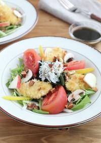栄養満点!鶏むね肉の和風パワーサラダ