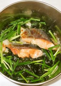 鮭雑炊♪簡単食欲不振胃弱虚弱体質の食養生