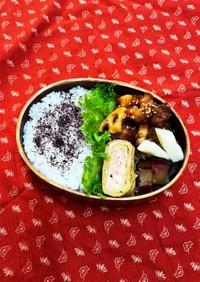 9/23鶏とレンコン の南蛮酢炒め弁当
