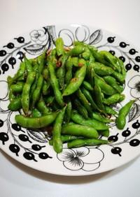 冷凍枝豆で簡単ペペロンチーノ