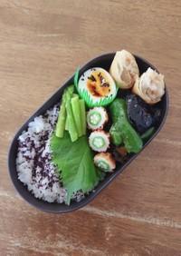 JK☆緑野菜多め弁当♪