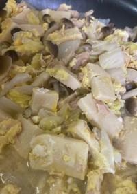 高野豆腐の野菜卵含め煮!