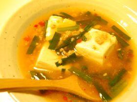 豆腐のトロトロスープ☆