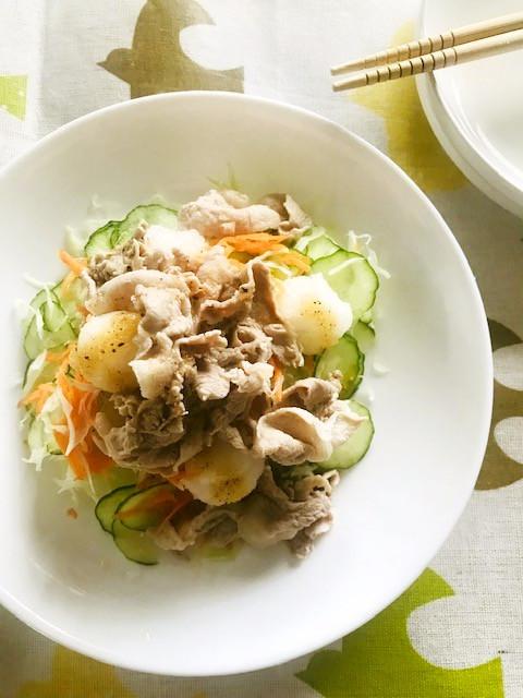野菜たっぷり☆豚しゃぶのサラダ