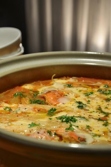 トマト鍋❤チーズ