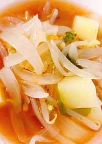 野菜たっぷり♬。.トマトスープ