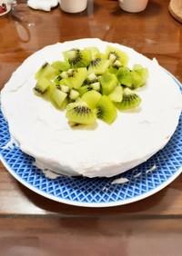 簡単  炊飯器でふわふわショートケーキ