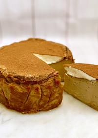 濃厚♪ティラミス風バスクチーズケーキ