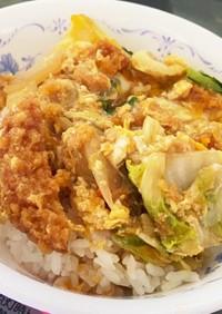 めんつゆで簡単✨広島がんすと白菜の卵とじ