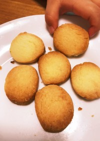 我が家の簡単サクサククッキー