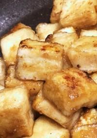 高野豆腐の麺つゆ炒め