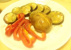 レンジでチン♪オリーブオイルで温野菜