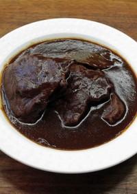 牛すね肉とマンゴーの漆黒カレー