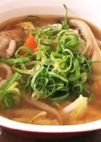 うま辛☆栄養満点☆具だくさんキムチスープ