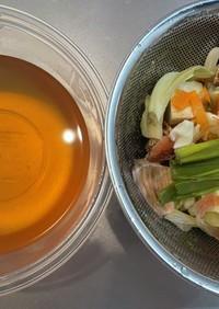 簡単!べジブロス(万能野菜だし)の作り方