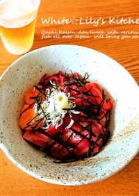 北海道~博多へ日本一周気分❤️豪華海鮮丼
