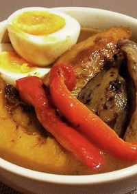◆簡単♡手羽先と野菜のスープカレー◆