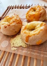 HB☆全粒粉のチーズベーグル
