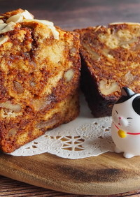 HKMで簡単♪キャラメルパウンドケーキ!