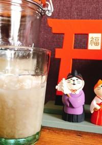 炊飯器で甘酒♡麹と水だけ!乾燥麹or生麹
