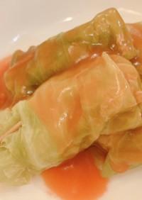 ロールキャベツ(ケチャップ味)