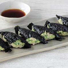 野菜たっぷり海苔餃子(寿司はね)