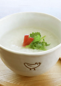 レンジでラクチン♪米から作る、五分粥