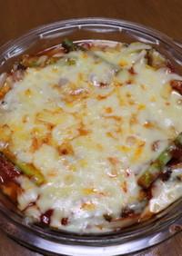 茄子のトマトチーズ焼き