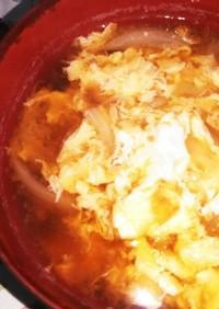味噌汁 其の1 卵と玉ねぎの味噌汁
