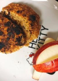 (低糖質)簡単オートミールのパン