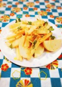 蒲鉾とお野菜を豆板醤マヨネーズで