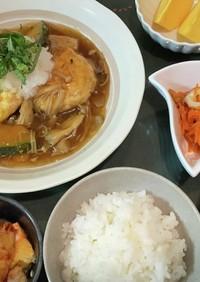 ダイエット豆腐餡掛けハンバーグ